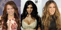 Celebrity hair vs. Celebrity hair.